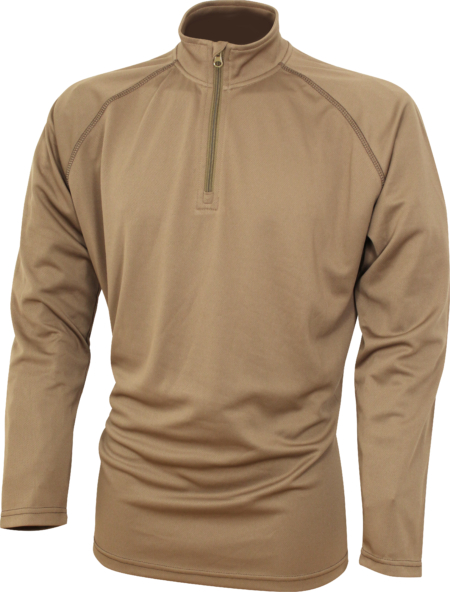 Mesh tech Armour Top Brown