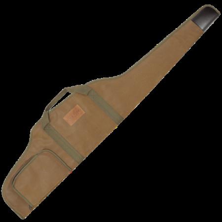 riffelfoderal brun