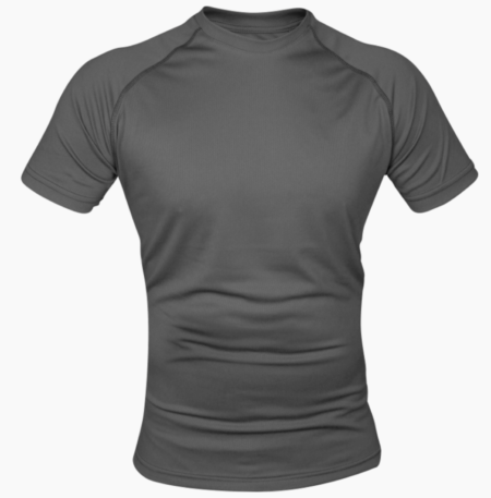 Mesh-tech Armour T-Shirt Titanium