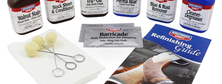 Deluxe Perma Blue & Tru-Oil Kit
